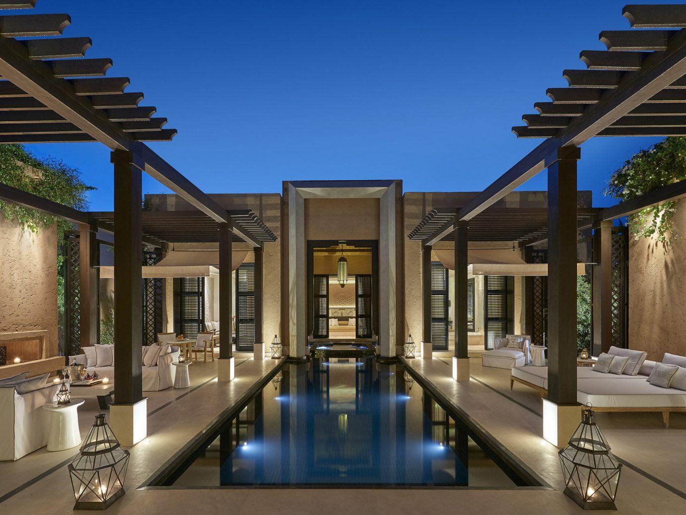 Trip Ideas property estate condominium Architecture swimming pool home Resort mansion Villa real estate interior design Courtyard Island colonnade