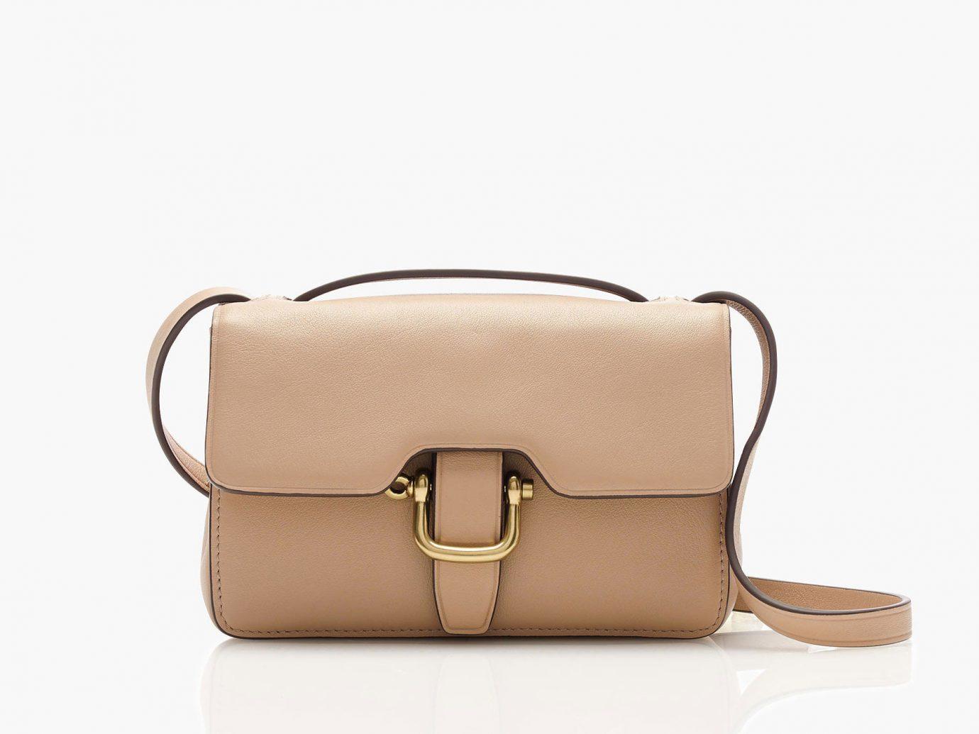 Style + Design handbag accessory bag indoor brown case shoulder bag leather brand beige