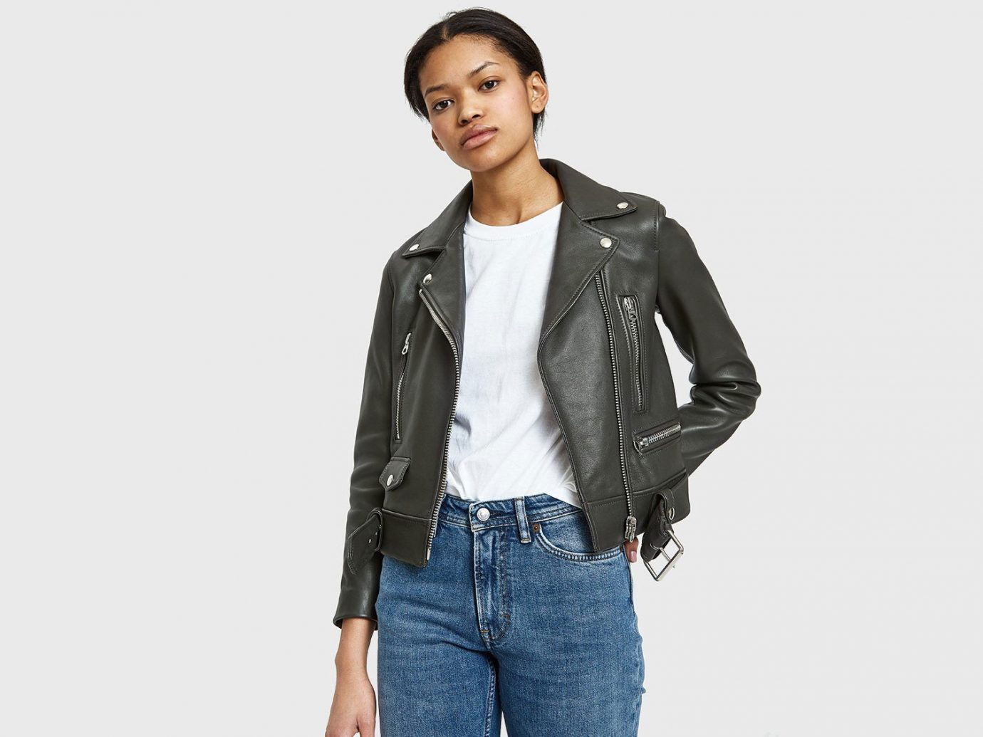 Packing Tips Style + Design Travel Shop person jacket fashion model leather jacket leather model material jeans coat posing sleeve supermodel suit