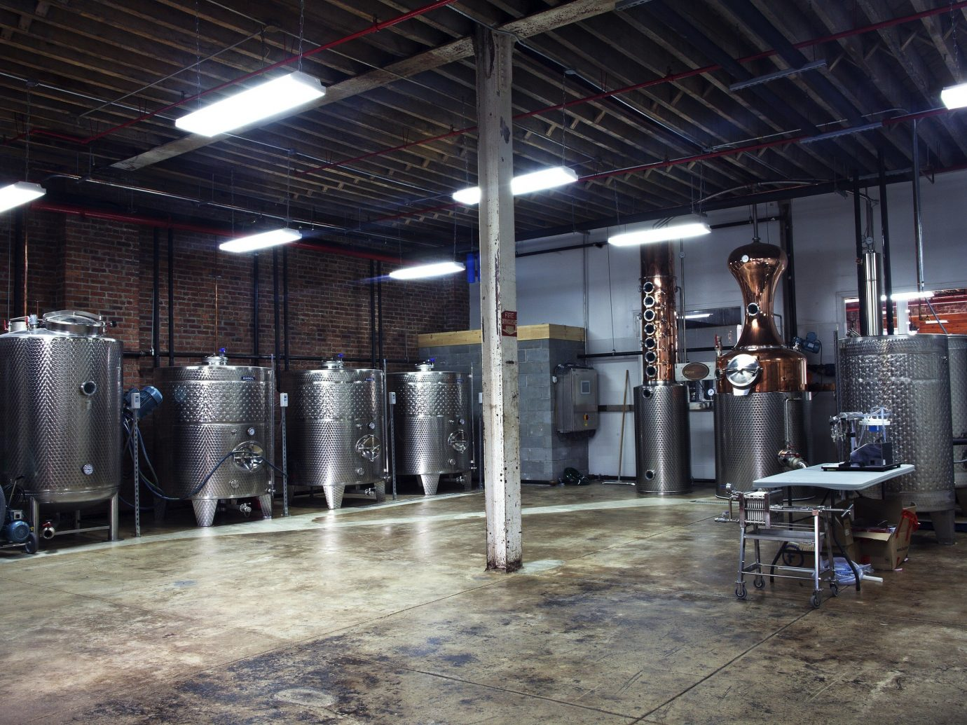 Brooklyn Food + Drink industry factory brewery warehouse machine manufacturing