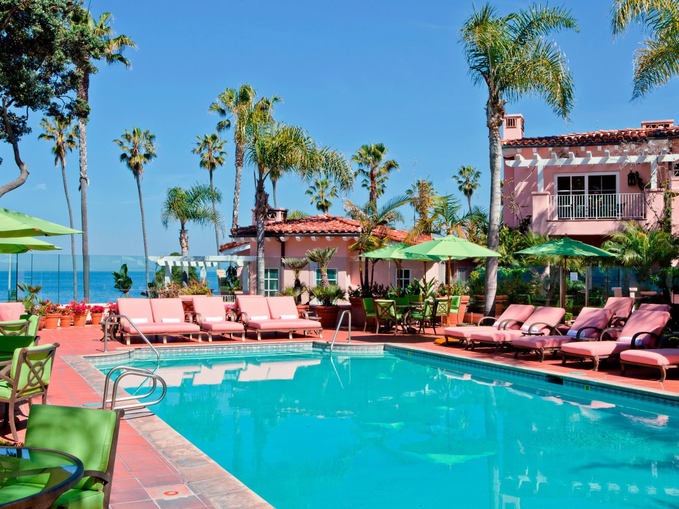 Elegant Hotels Luxury Patio Pool Trip Ideas Tropical tree sky outdoor swimming pool leisure Resort property estate vacation resort town Villa real estate palace amusement park swimming several