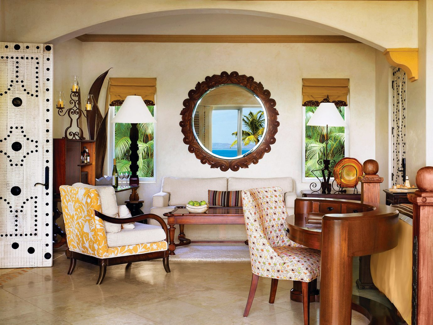 Living room at One&Only Palmilla