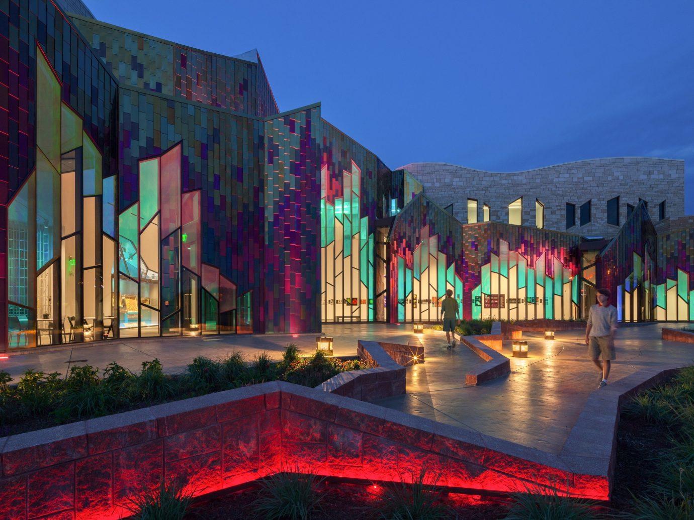 Trip Ideas sky color outdoor landmark night evening facade City colorful rainy
