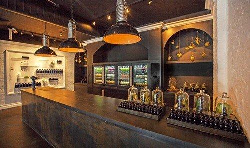 Jetsetter Guides indoor Kitchen floor property counter Bar estate Lobby interior design restaurant tourist attraction table Island