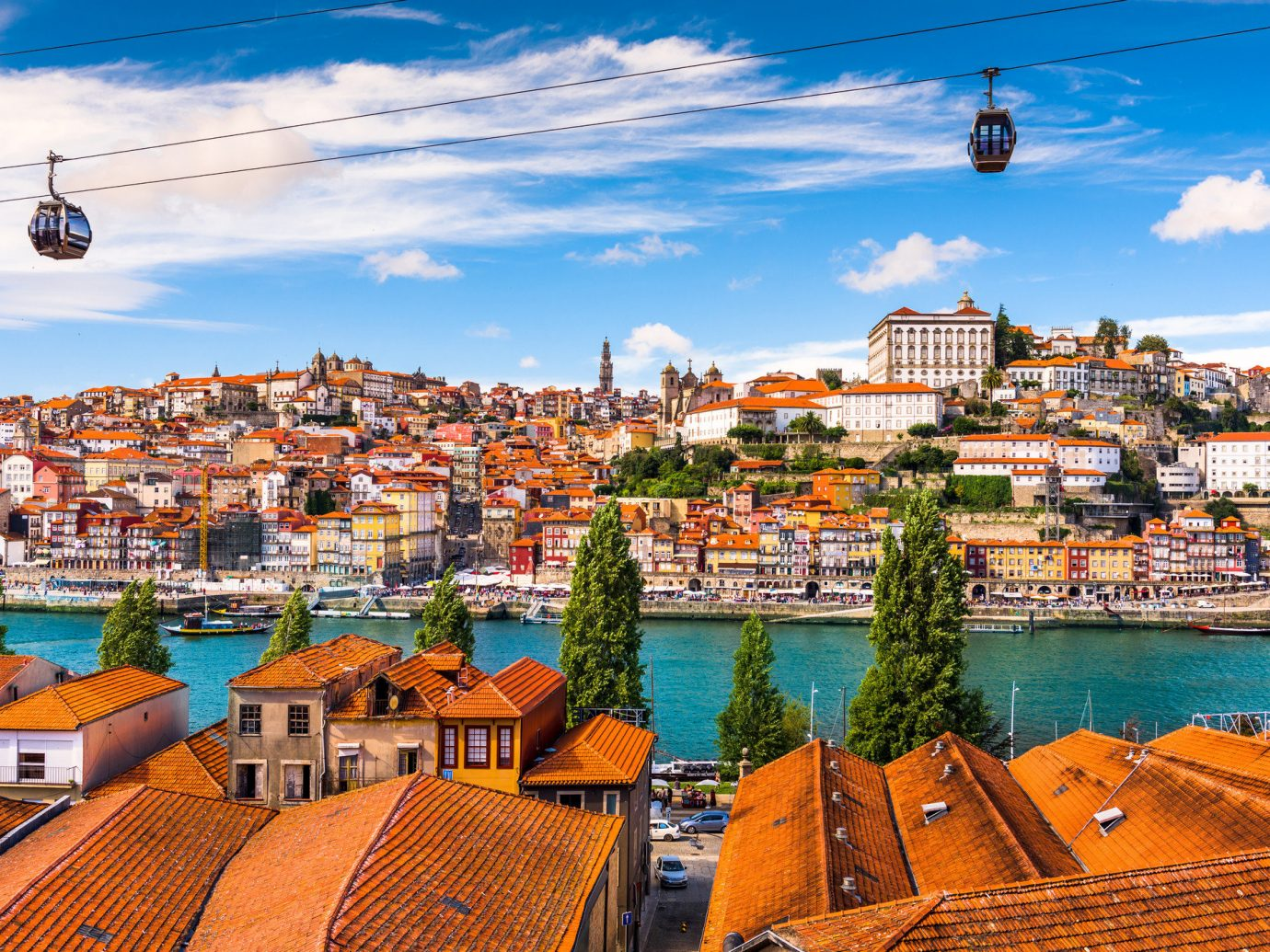 Trip Ideas sky outdoor Town geographical feature cityscape Sea vacation human settlement scene Coast tourism Harbor Beach skyline travel port several