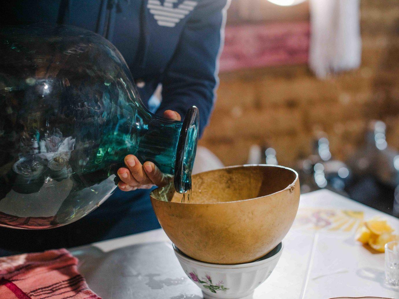 Arts + Culture Mexico Oaxaca Trip Ideas table cup indoor food dish cuisine Drink