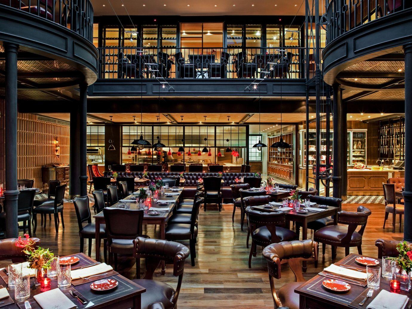 Boutique Hotels Luxury Travel building table restaurant interior design Lobby café coffeehouse tavern Bar several