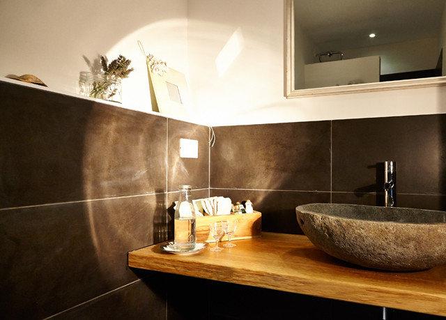 property countertop sink bathroom home counter plumbing fixture bathtub flooring Modern