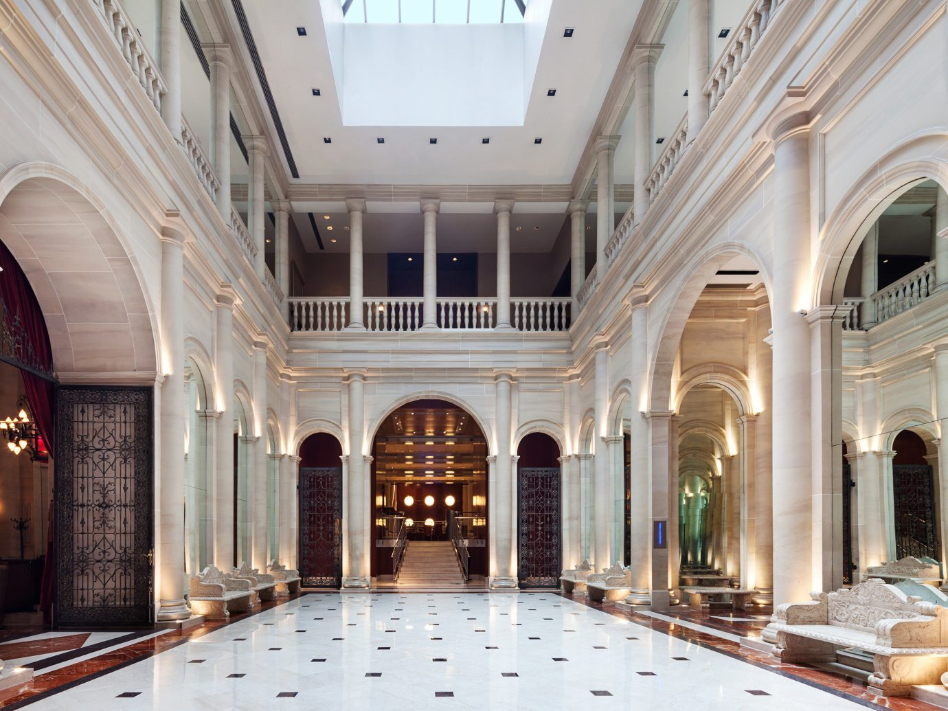 City Classic Family Travel Hotels Lobby window building estate palace Architecture stone mansion interior design hall facade ballroom synagogue tourist attraction court colonnade