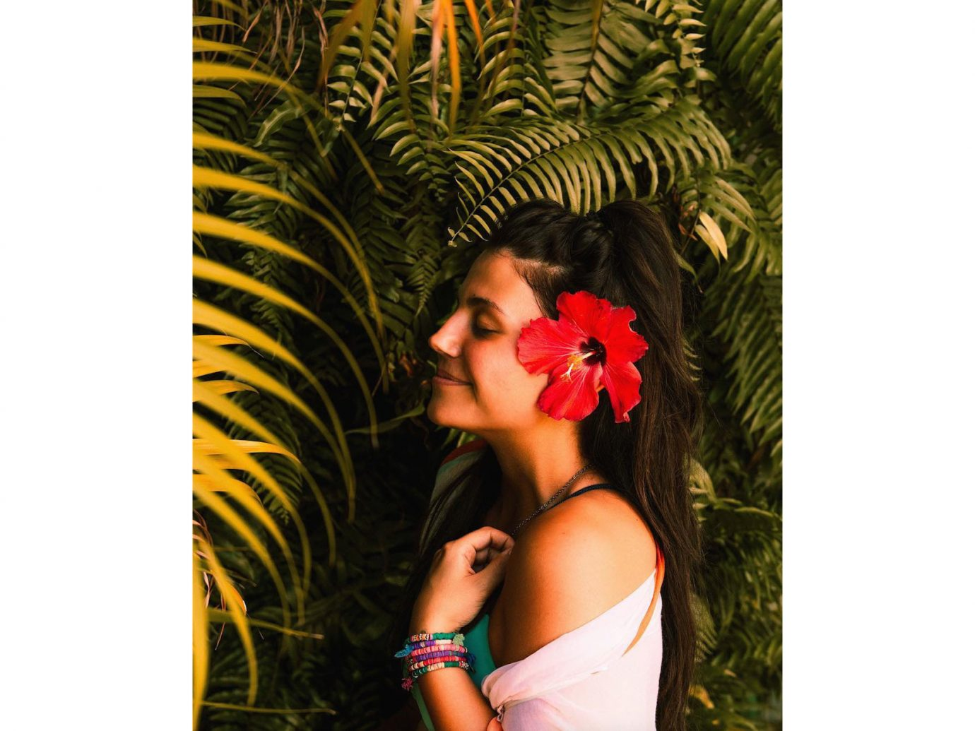 Influencers + Tastemakers Travel Shop Trip Ideas person flower beautiful photo shoot posing