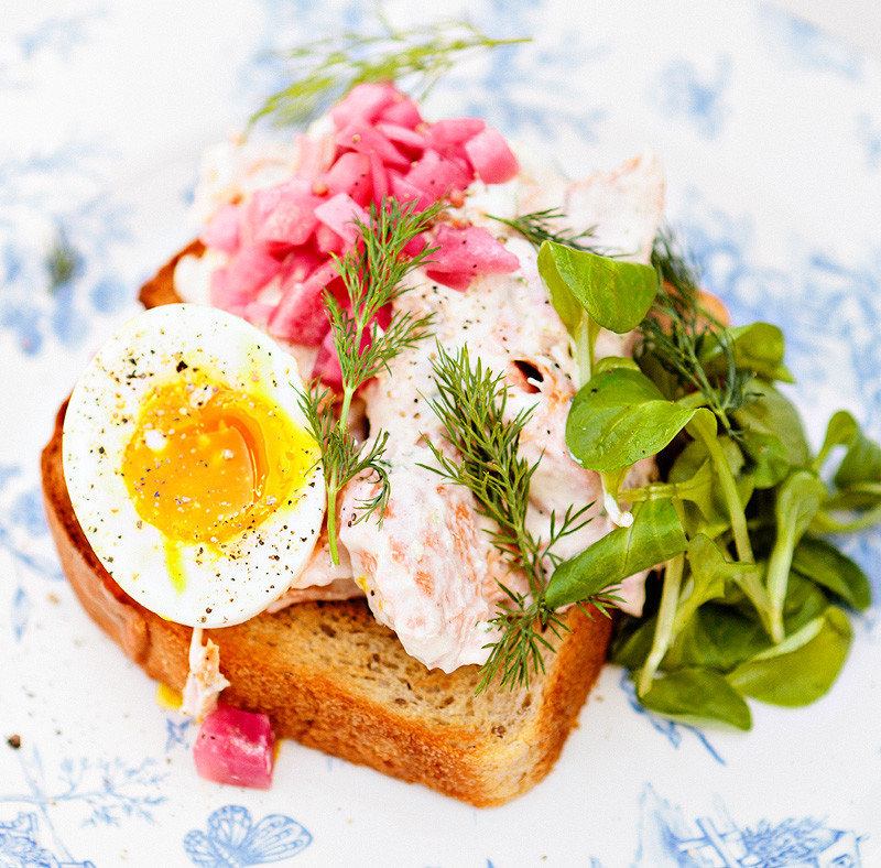 breakfast brunch Dining Eat eggs food Food + Drink gourmet dish meal smoked salmon fish produce cuisine meat lunch salt cured meat