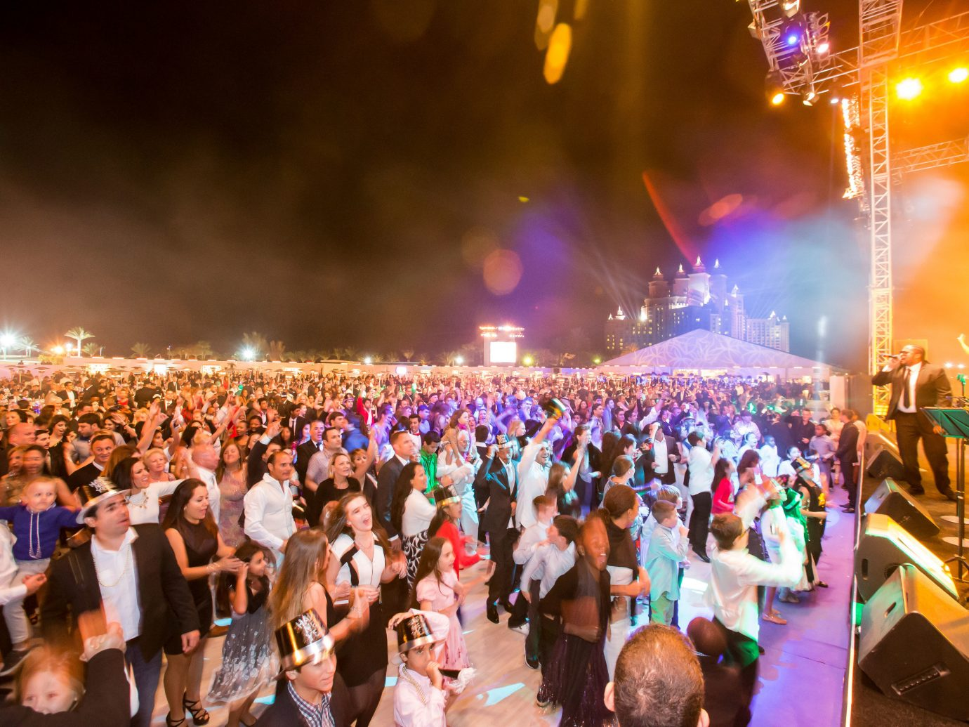 Trip Ideas person crowd outdoor people group audience event Party festival nightclub night