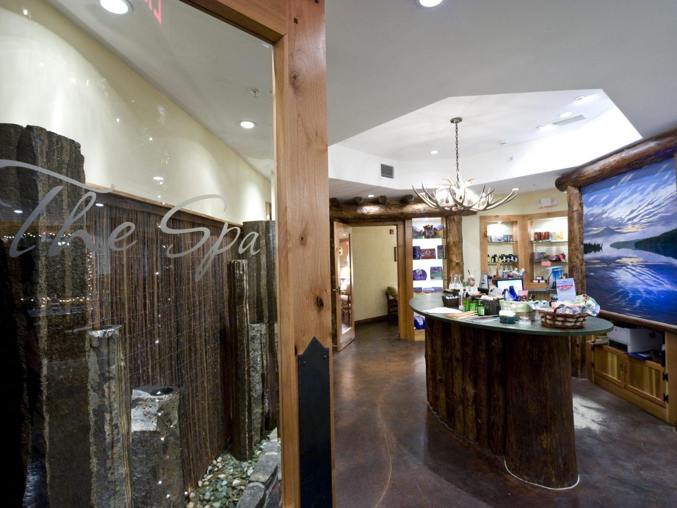 Health + Wellness Spa Retreats Trip Ideas indoor wall floor property room ceiling estate Lobby interior design restaurant wood