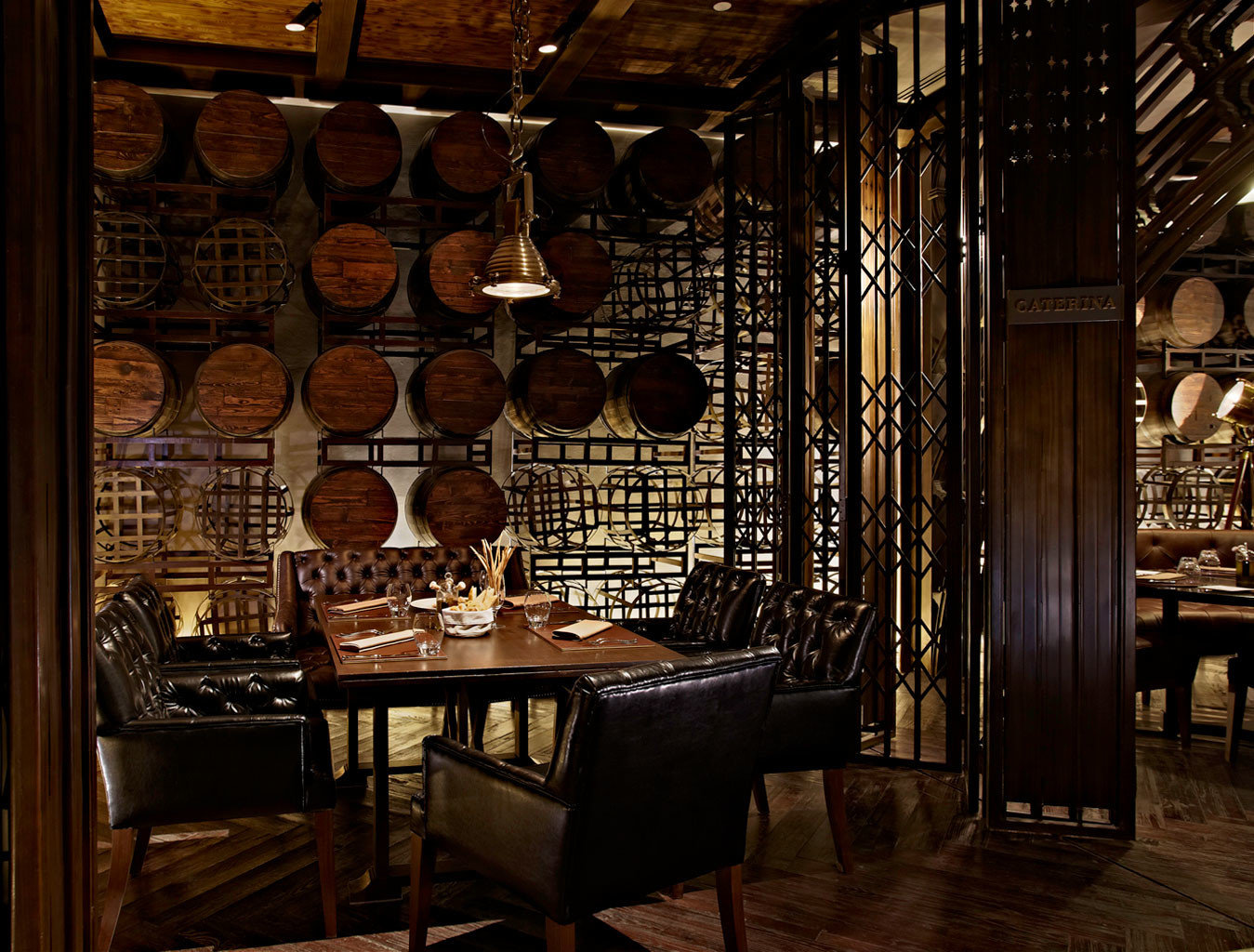 City Dining Drink Eat Elegant Hotels Nightlife Scenic views Shop indoor floor room Winery restaurant Bar interior design lighting estate wine cellar tavern basement