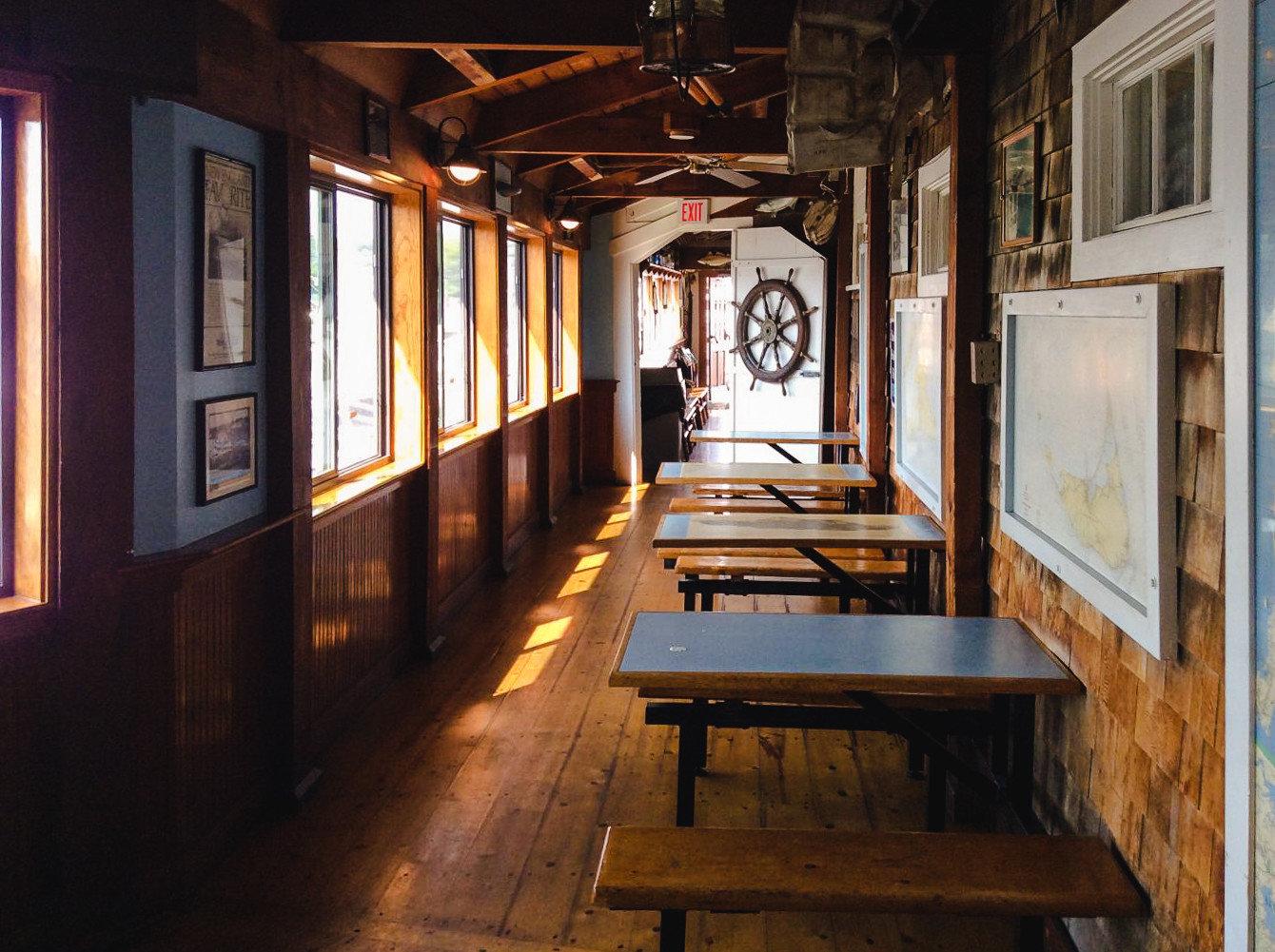 Food + Drink Luxury Travel Trip Ideas Weekend Getaways tourist attraction platform interior design wooden wood window furniture