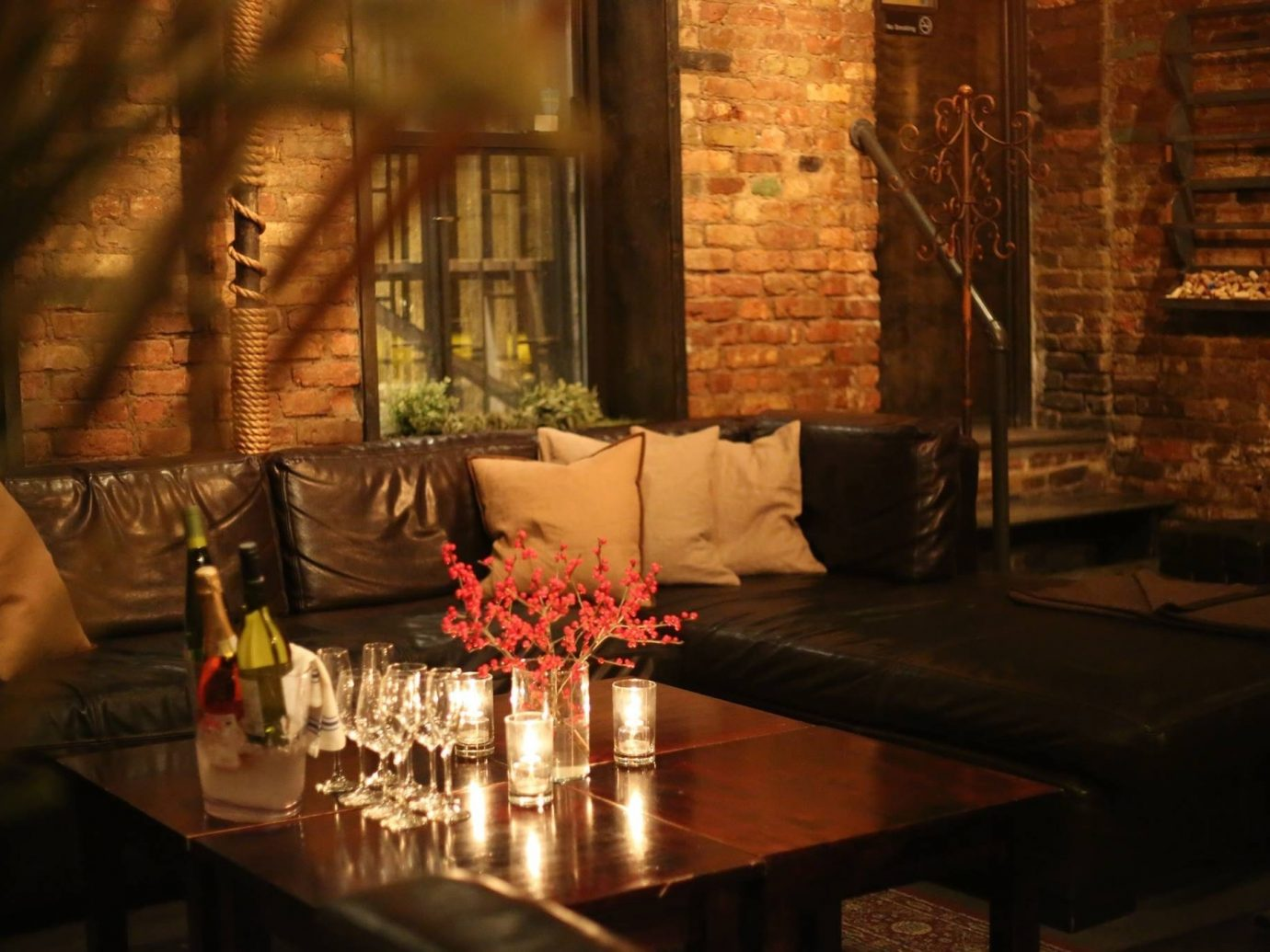 Food + Drink Romance table indoor restaurant room Living interior design Bar meal dining table