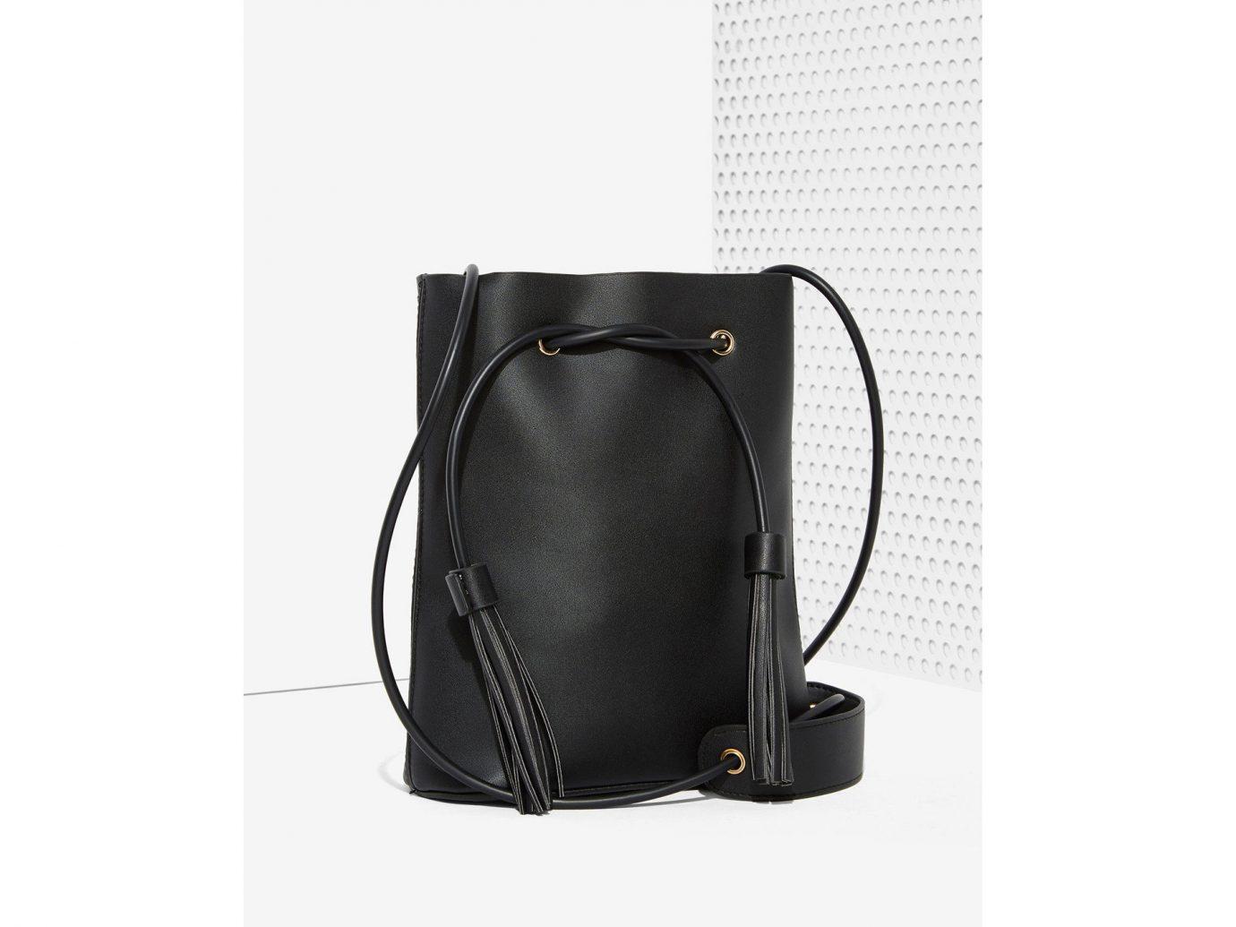 Style + Design bag indoor black product leather handbag brand hand luggage
