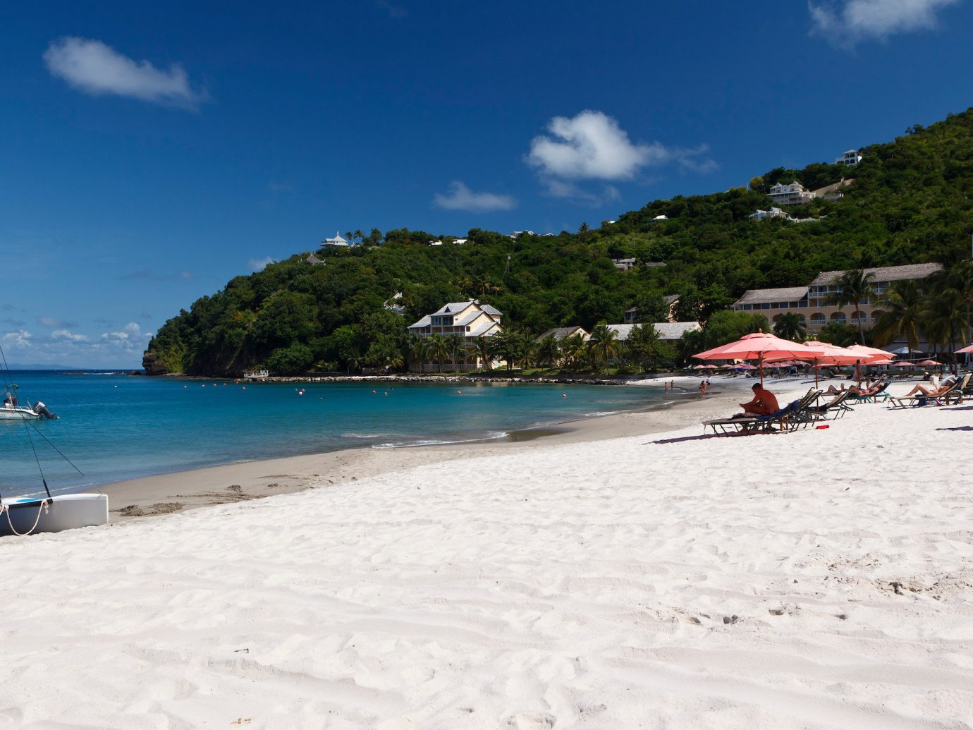 All-Inclusive Resorts Hotels outdoor sky Beach body of water coastal and oceanic landforms snow vacation tourism Sea shore Coast leisure caribbean bay summer water Ocean sand tree sandy day