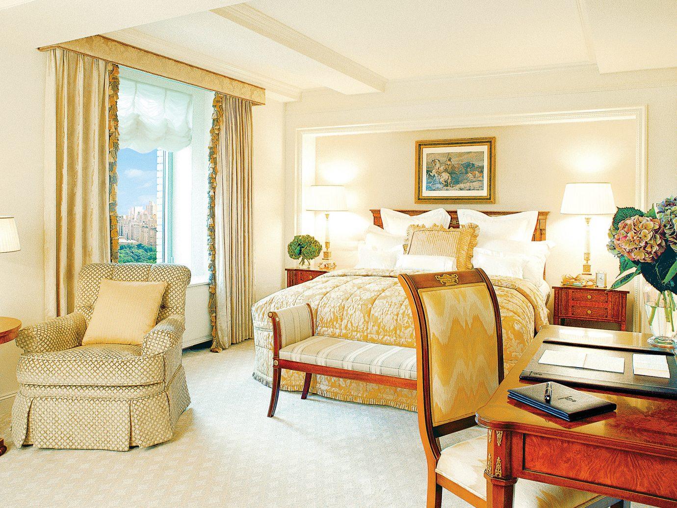Bedroom Elegant Hotels Luxury Suite floor indoor room wall Living property living room estate home furniture cottage interior design real estate hardwood Villa farmhouse