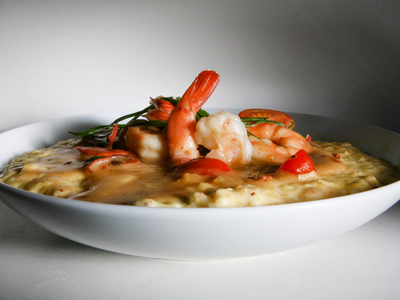 Food + Drink food plate dish indoor cuisine bowl risotto Seafood vegetarian food thai food recipe italian food soup