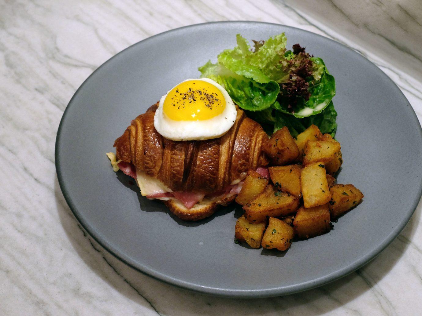 Food + Drink plate food table dish meal meat breakfast produce cuisine vegetarian food lunch restaurant vegetable piece de resistance
