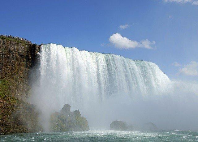 sky Nature Waterfall water mountain water feature wind wave wasserfall Sea terrain wave spring