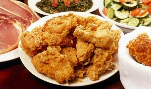 Food + Drink plate food table dish fried food meat cuisine fast food asian food fried chicken fish crispy fried chicken fried prawn chinese food pakora chicken fingers Seafood chicken meat meal several containing