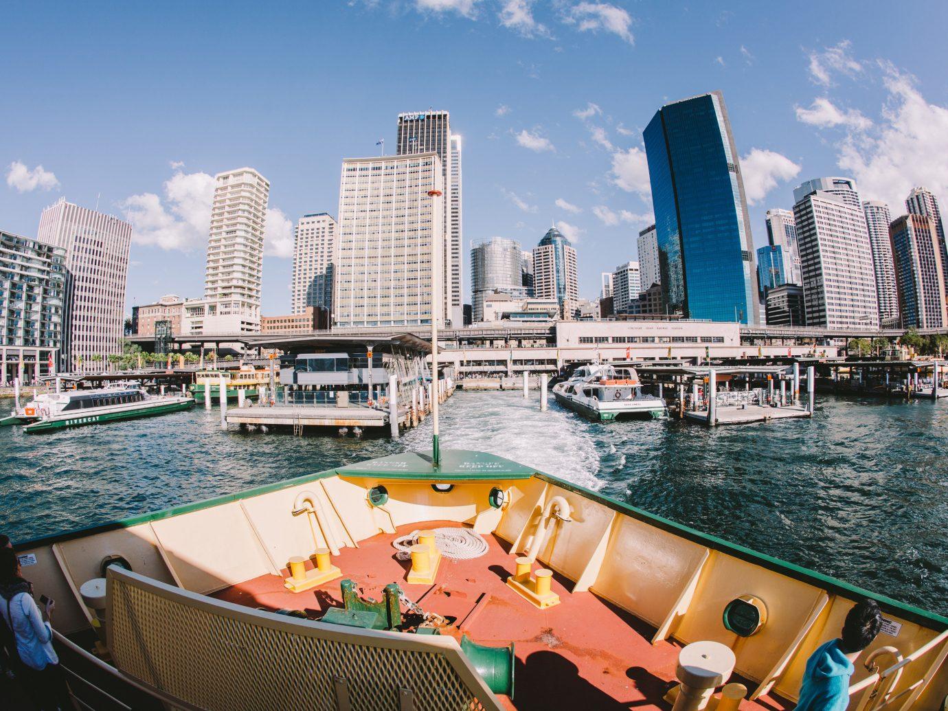 Trip Ideas sky outdoor water skyline Boat vehicle passenger ship marina tourism vacation cityscape Harbor dock yacht watercraft