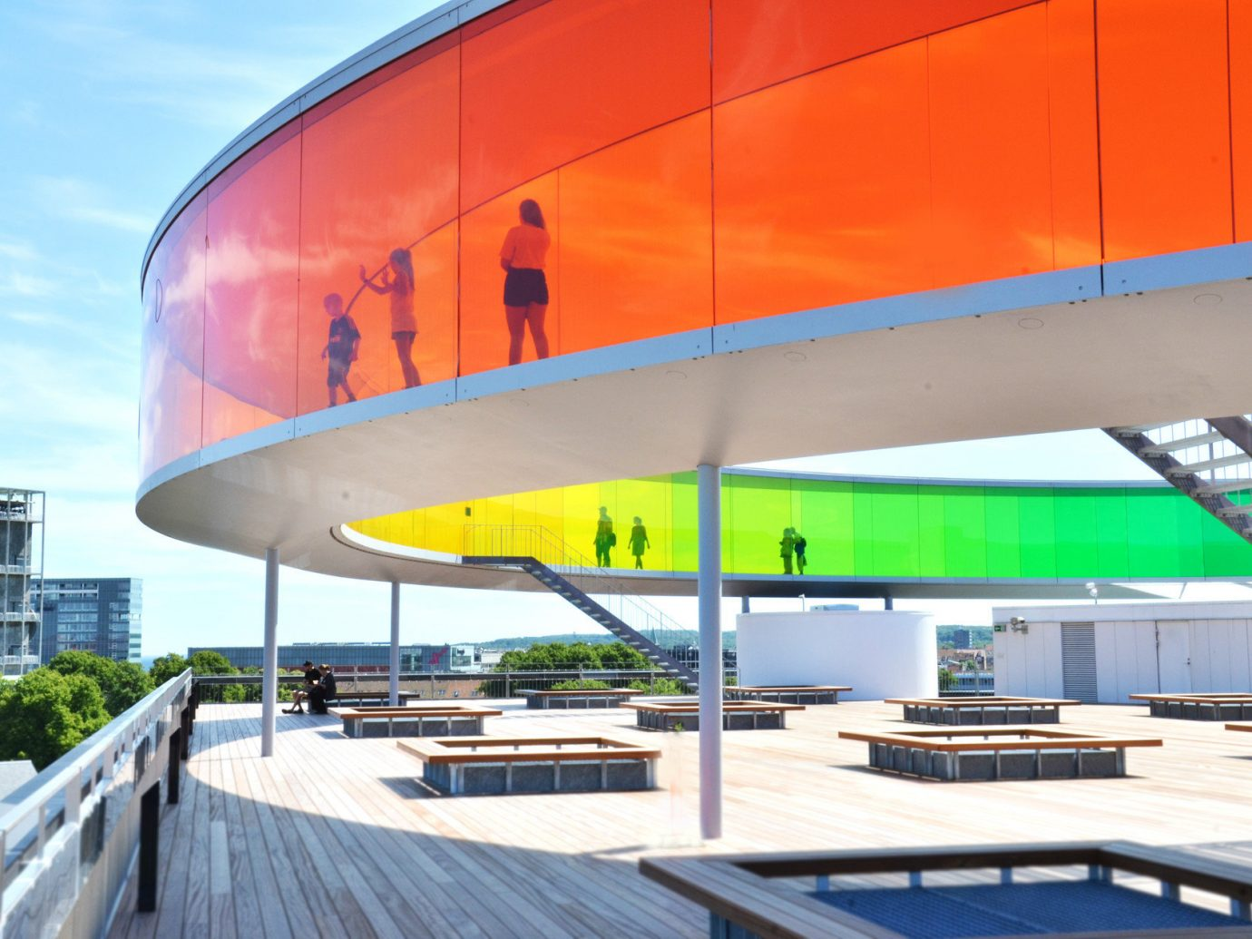 Architecture art Buildings City city views Museums Parks Scenic views Trip Ideas outdoor structure airline vehicle sport venue atmosphere of earth aviation arena aircraft stadium headquarters convention center