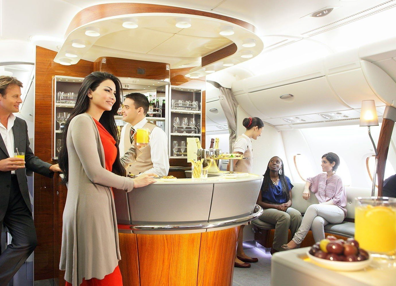 Travel Tips indoor person ceiling meal lunch vehicle restaurant dressed