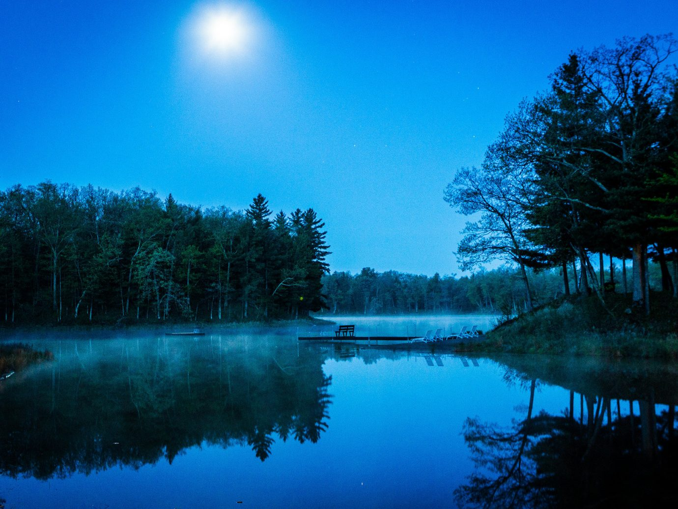 calm dusk Forest isolation Lake Nature night Outdoors reflection remote serene trees Trip Ideas woods tree outdoor water sky habitat pond atmospheric phenomenon wilderness natural environment atmosphere morning dawn moonlight cloud evening sunlight surrounded mountain sunrise computer wallpaper mist day wooded