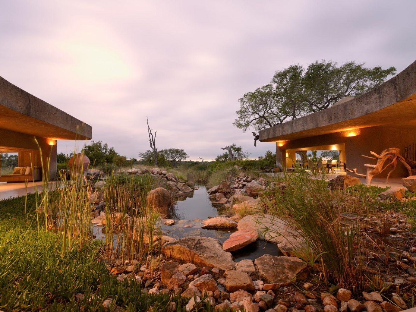 Hotels Luxury Travel outdoor sky house estate Resort home landscape Nature Village stone