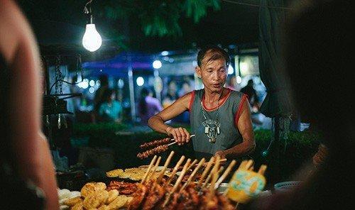 Food + Drink person indoor food nightclub sense dish meal barbecue