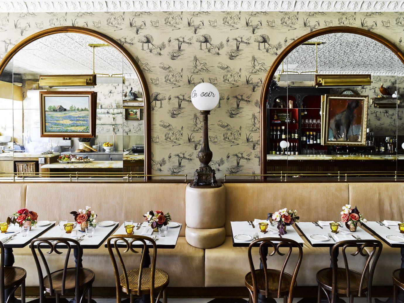 Food + Drink Travel Tips indoor restaurant interior design table furniture café dining room coffeehouse