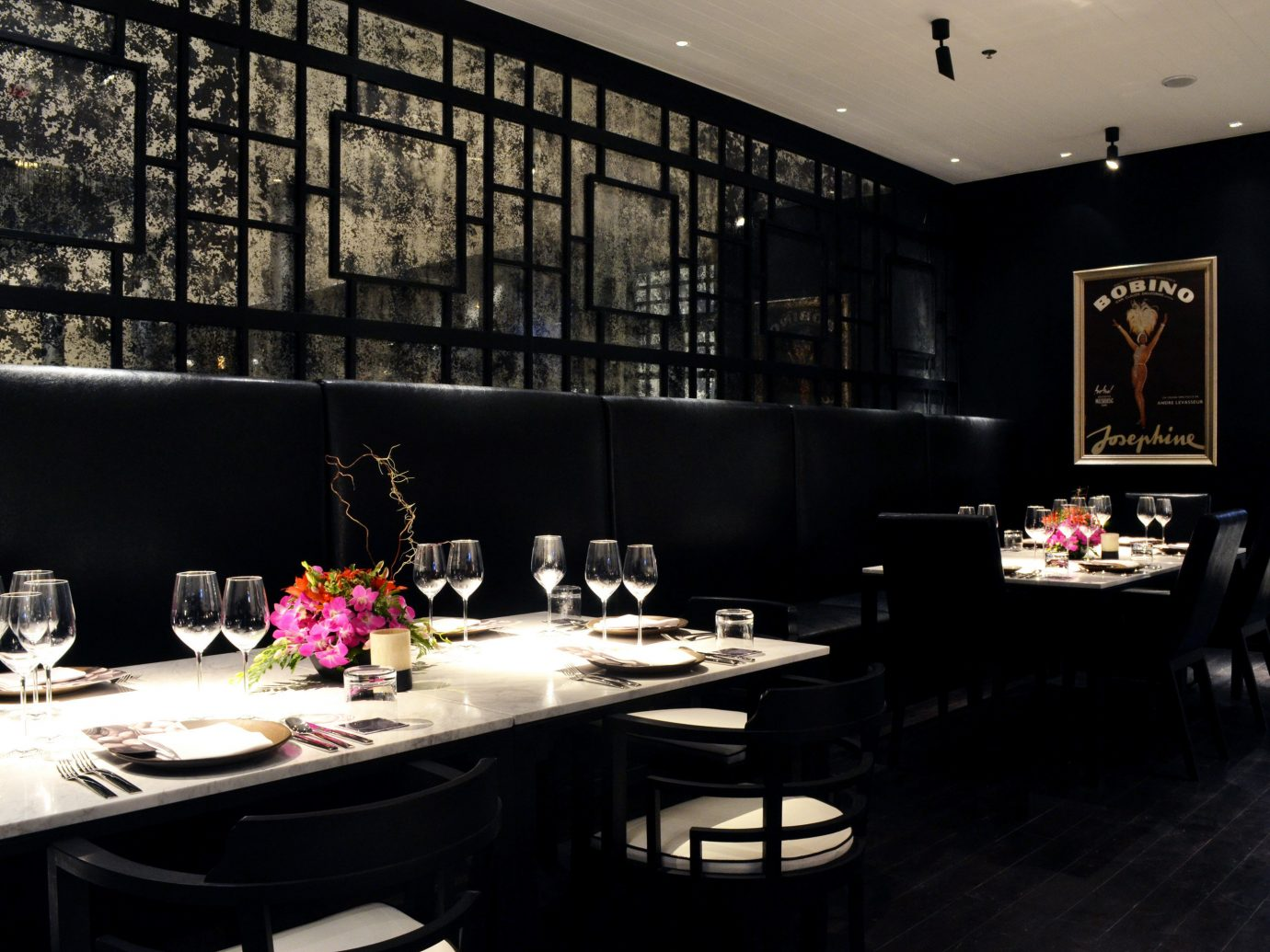 Bar City Dining Drink Eat Hotels Luxury Romance indoor table room restaurant meal interior design dining room lighting Design area furniture