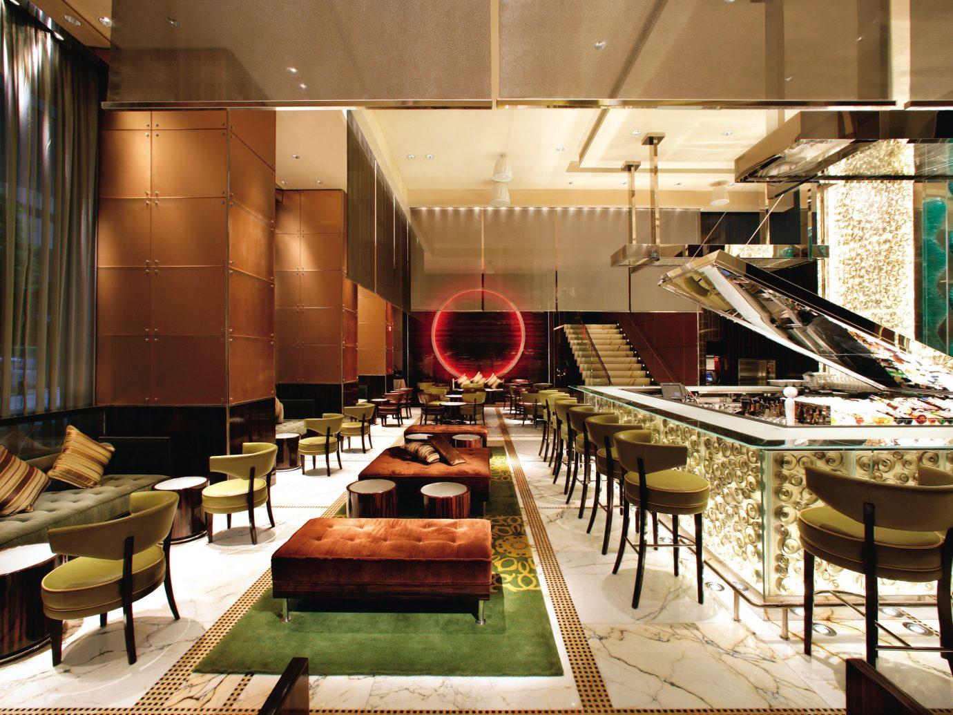 Business City Design Elegant Hotels Luxury table indoor meal restaurant interior design buffet furniture several