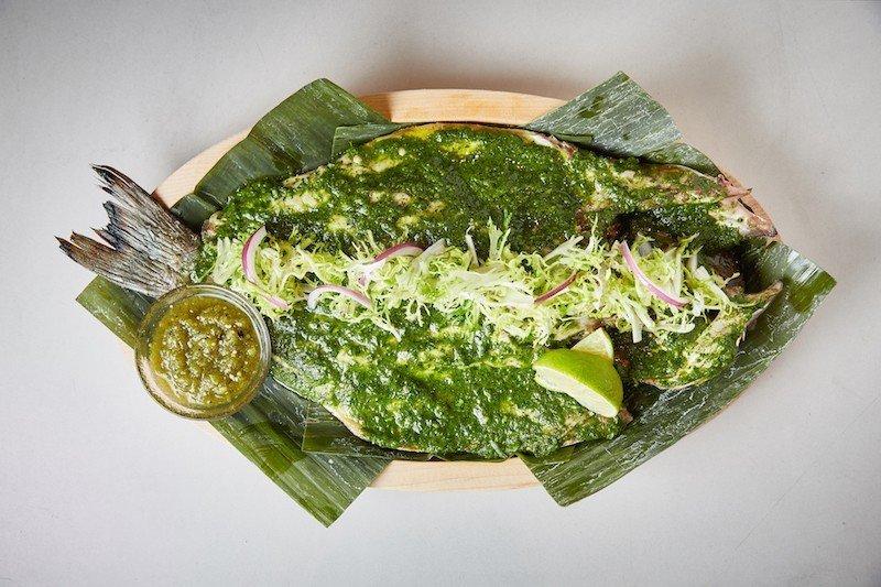 Summer Series food dish green produce leaf cuisine fish vegetable leaf vegetable seaweed algae asian food vegetarian food meal snack food