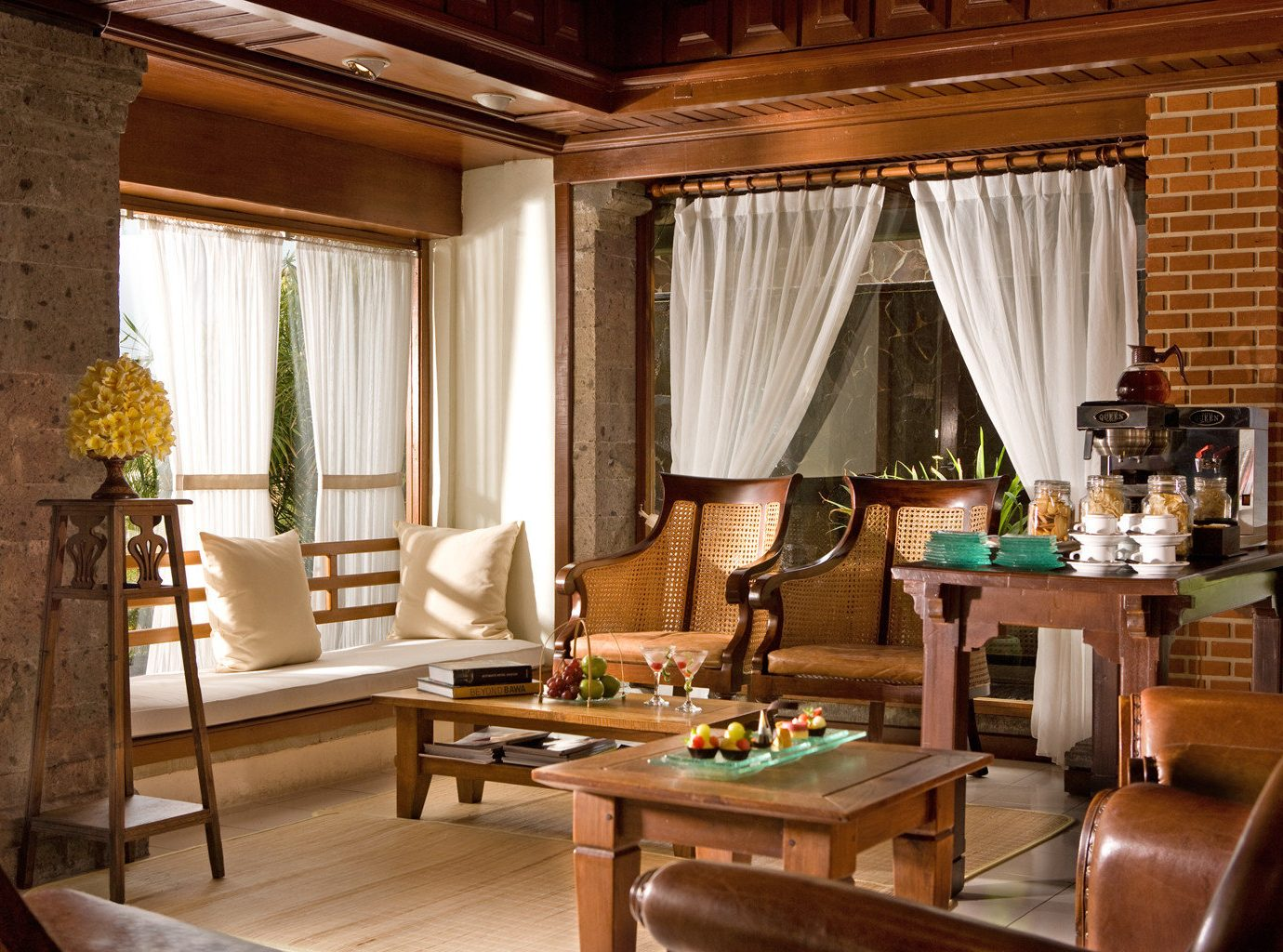 Cultural Drink Eat Eco Jetsetter Guides Jungle Lounge Outdoor Activities Resort Villa Wellness indoor table floor room Living window property curtain living room estate dining room interior design home Suite cottage real estate furniture farmhouse