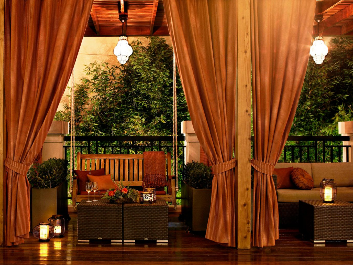 Elegant Hotels Lobby Lounge Romance indoor room curtain interior design home estate window treatment wood living room window covering textile furniture decorated