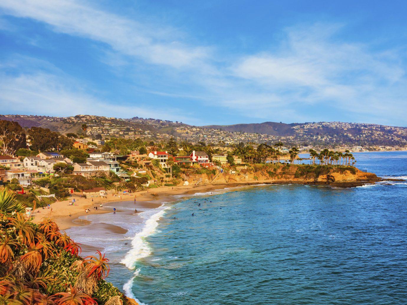 Laguna Beach in California