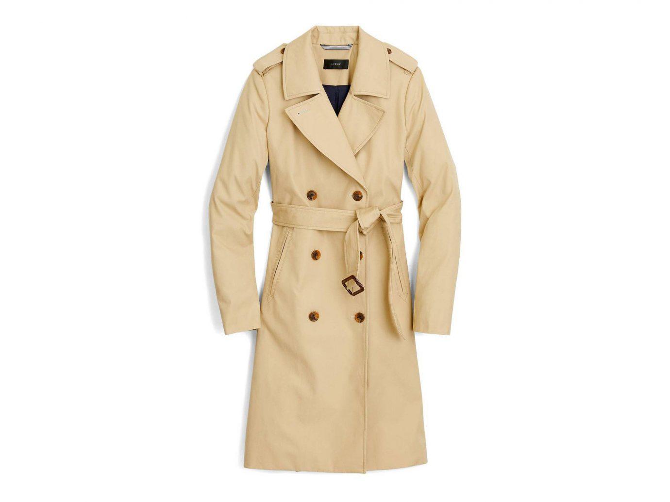 France Style + Design Travel Shop coat clothing trench coat overcoat beige