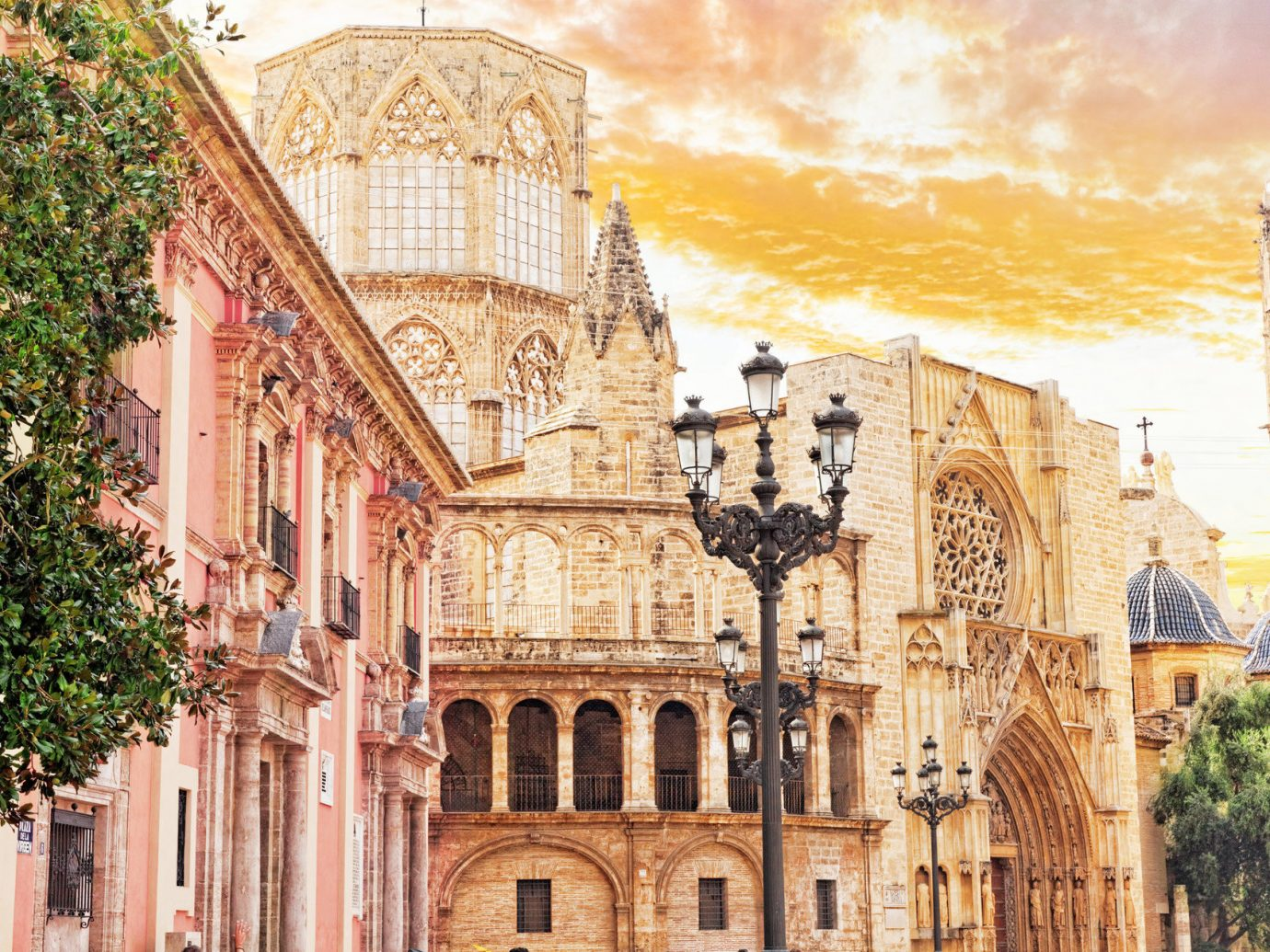 Trip Ideas building outdoor landmark Town neighbourhood Architecture facade tourism cathedral palace cityscape ancient history estate place of worship Church synagogue