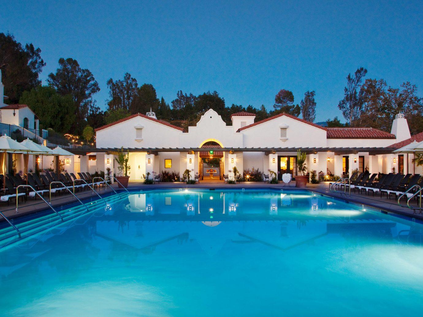 Eco Pool Style + Design water outdoor Resort swimming pool property leisure estate blue Villa resort town swimming mansion