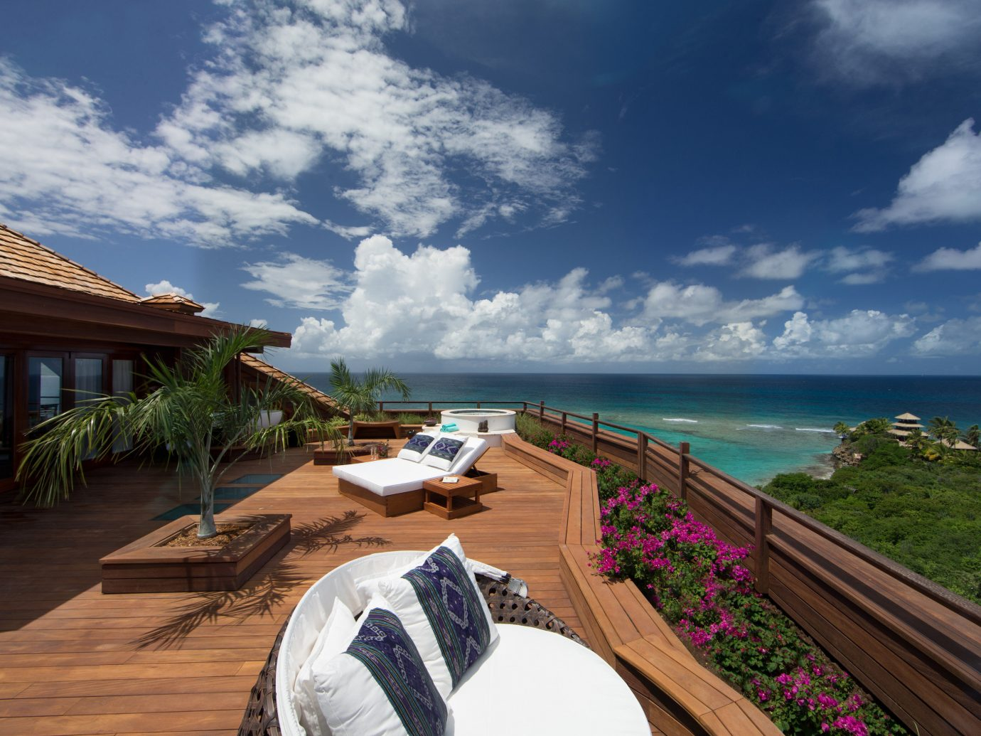 Trip Ideas sky outdoor Sea geographical feature Coast Beach Ocean caribbean vacation shore bay Resort tourism estate tropics cape Island day
