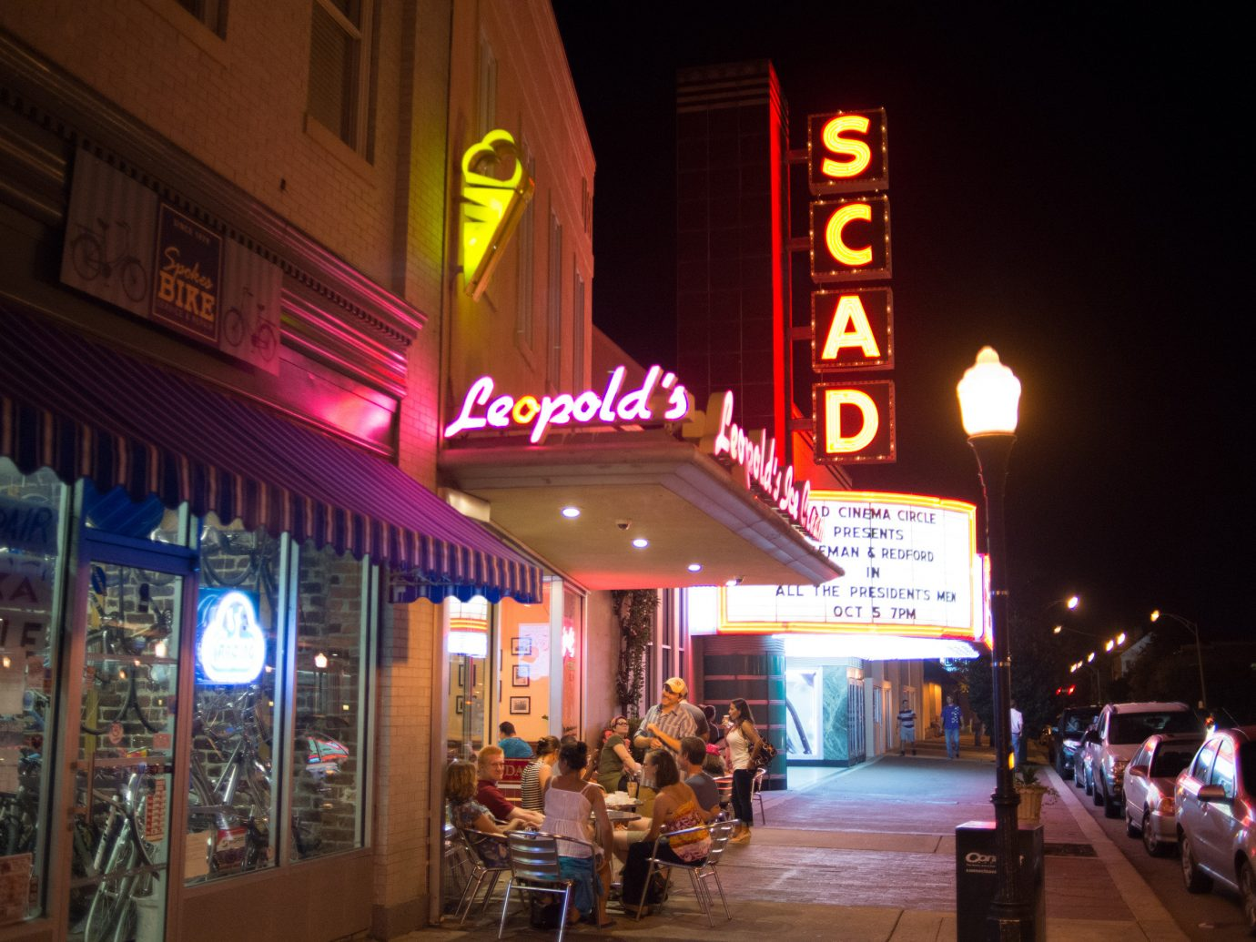 Leopold's Ice Cream in Savannah, GA