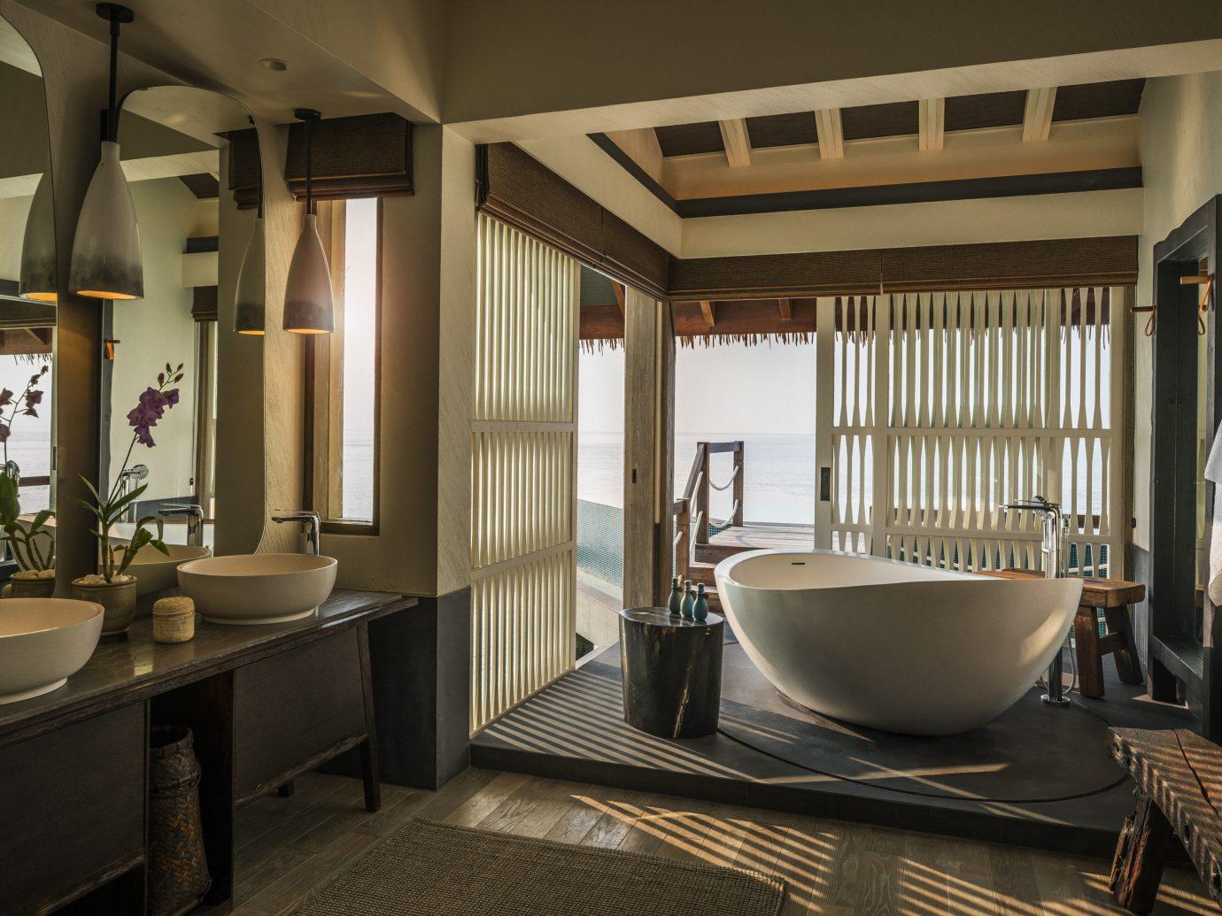All-Inclusive Resorts Hotels indoor wall window bathroom floor room interior design ceiling sink Suite estate interior designer furniture