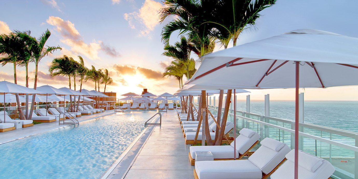 Pool at 1 Hotel South Beach - Miami Hotel