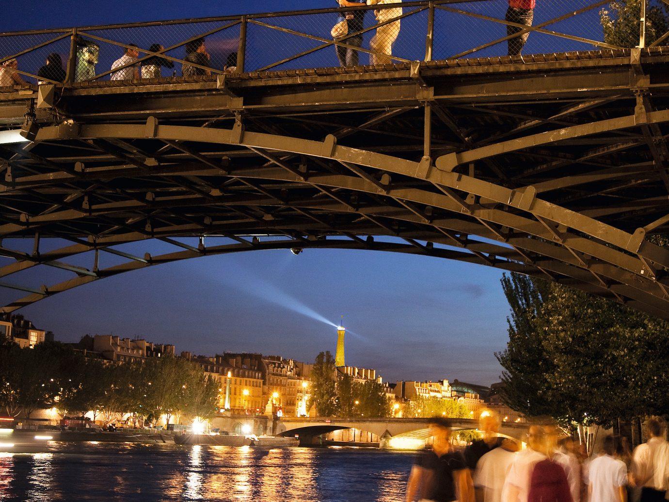 Romance Trip Ideas water sky outdoor bridge reflection landmark night evening morning dusk Sea Sunset line