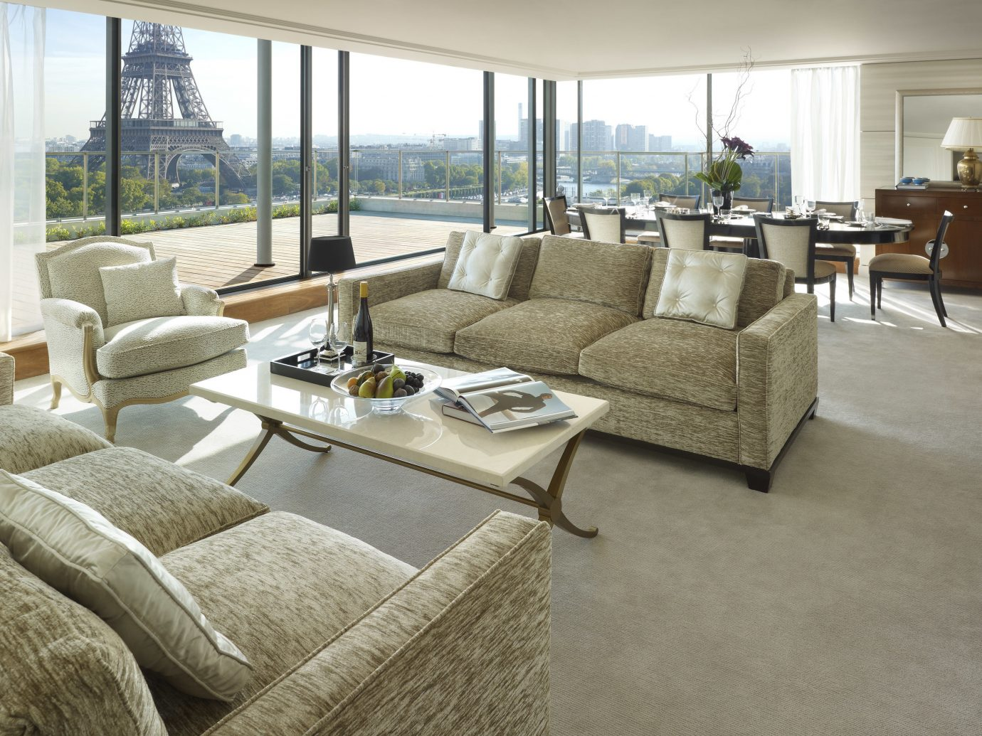 Hotels Luxury Travel indoor floor Living room sofa living room window property furniture interior design flooring ceiling home real estate table wood flooring coffee table hardwood couch loveseat chair estate penthouse apartment area several