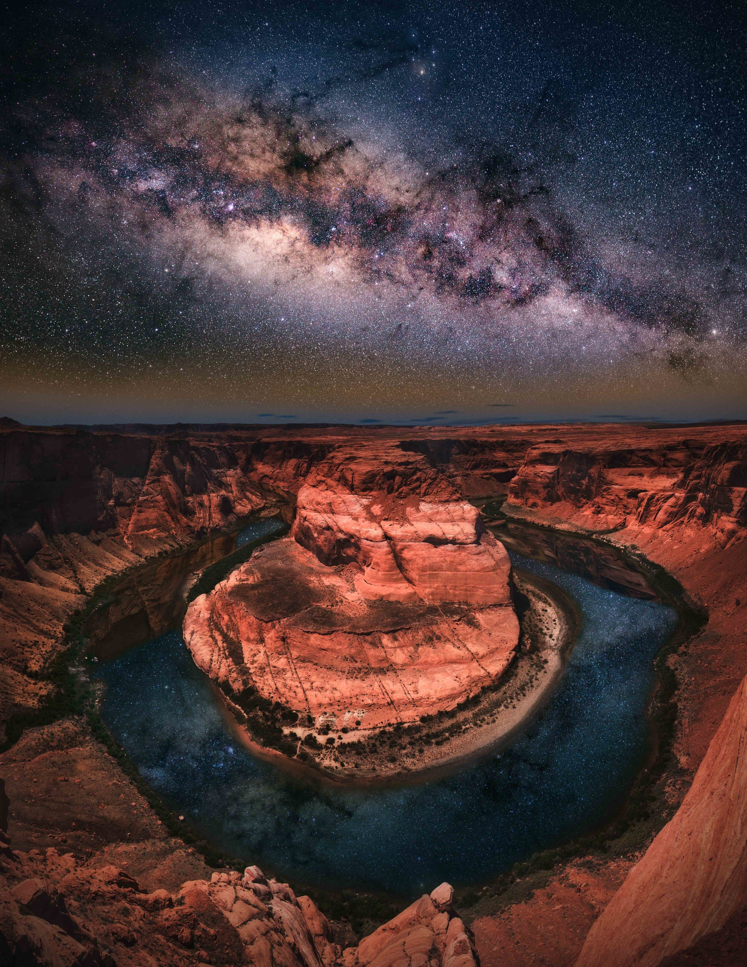 America American Southwest Road Trips Nature sky outdoor atmosphere outer space phenomenon geological phenomenon universe galaxy earth astronomical object star space reflection water landscape night computer wallpaper stock photography milky way